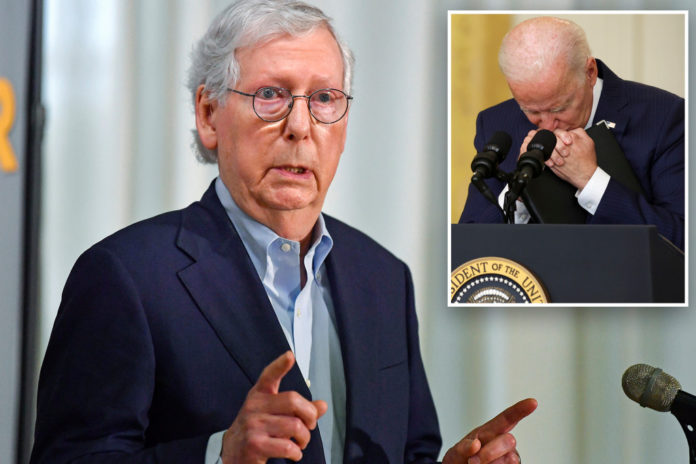 Sen. Mitch McConnell says no impeachment of Biden over Afghanistan