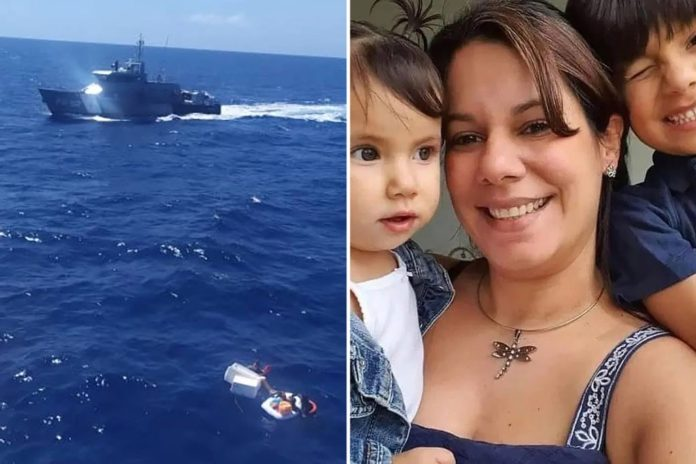 Shipwrecked mom dies after drinking own urine to save kids