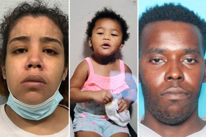 Baton Rouge mother charged in murder of her two-year-old daughter
