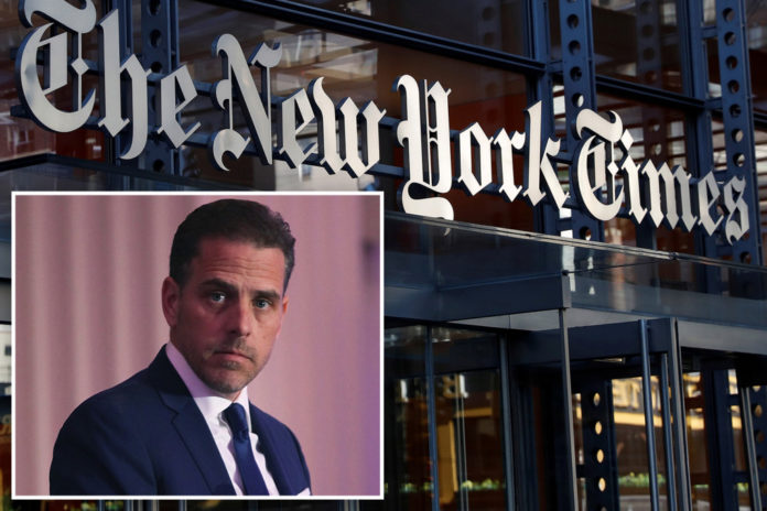 NYT deletes 'unsubstantiated' claim about Post's Hunter Biden report