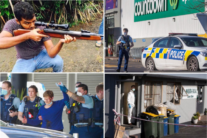 New Zealand stabbing suspect who threatened 'kiwi scums' online ID'd
