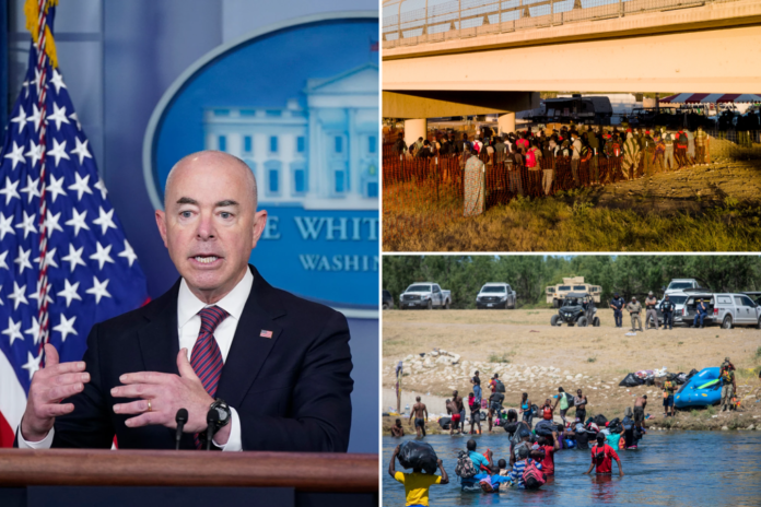 DHS preps for up to 400K migrant surge if Title 42 lifted: report