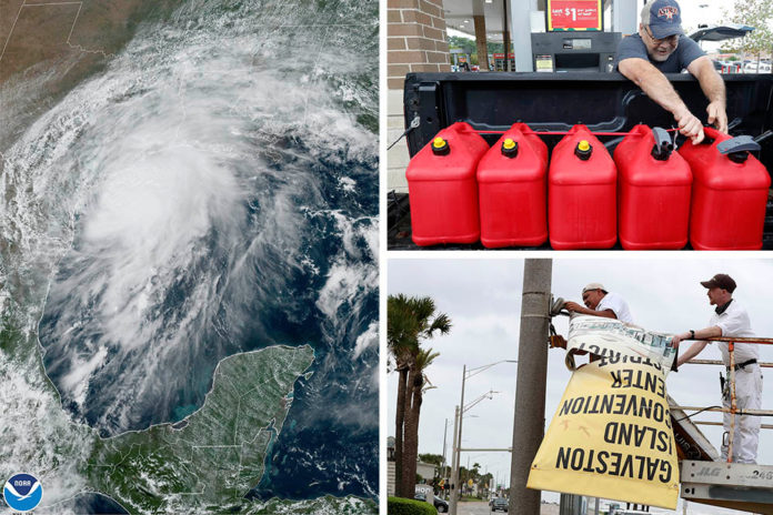 Tropical Storm could dump 20 in of rain on Texas Gulf Coast