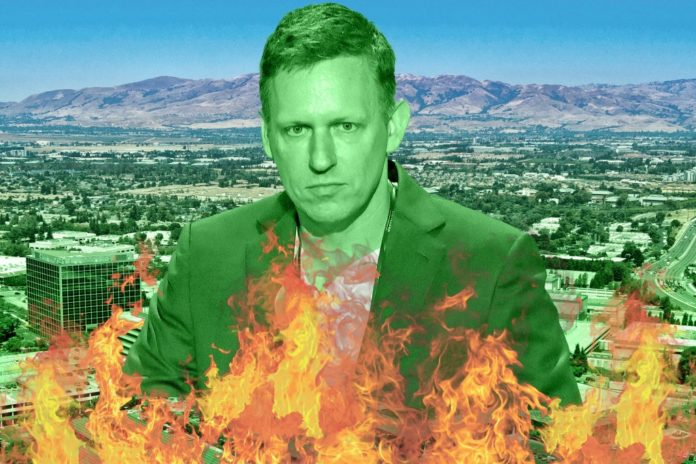 How Peter Thiel became the most feared man in Silicon Valley