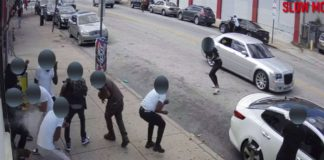 Video captures fatal drive-by shooting in Philadelphia