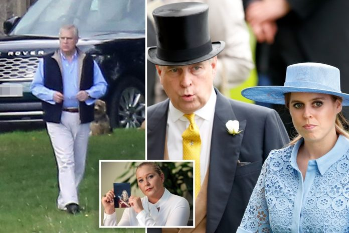 Prince Andrew served sex assault lawsuit papers again