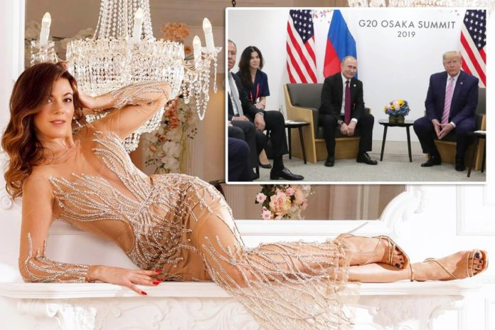 Get to know the stunning Russian translator Putin brought to Trump meeting