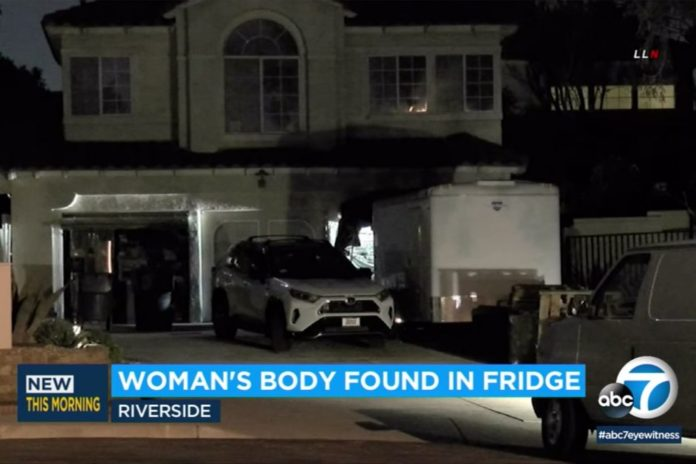 Body of 87-year-old woman found in freezer at her California home
