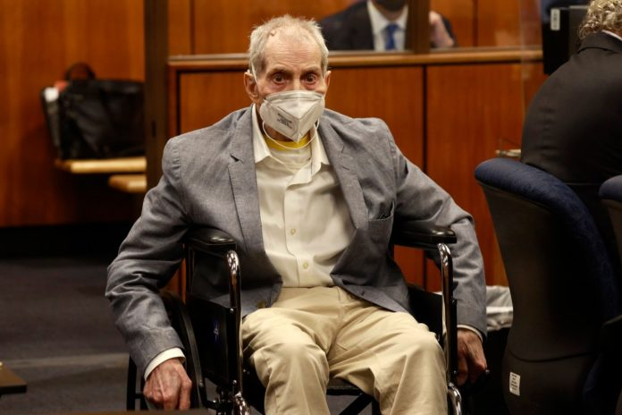 Robert Durst found guilty of murdering his longtime friend