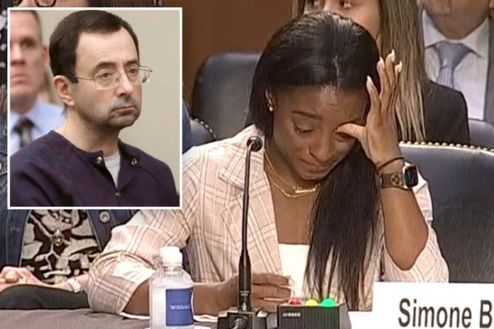 Simone Biles accuses makes statement on Larry Nassar sexual abuse