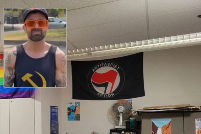 Pro-Antifa teacher Gabriel Gipe reportedly will be fired