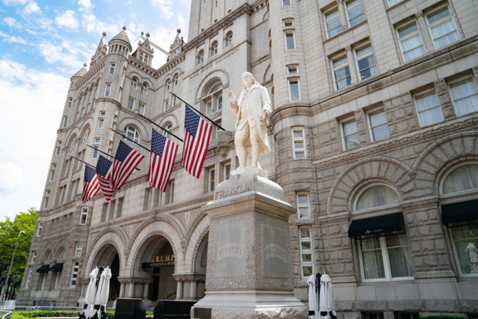Trump in talks to sell lease on his iconic Washington hotel: report