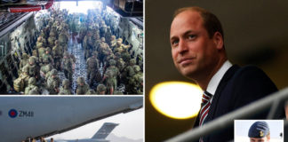 Prince William reportedly helped Afghan officer escape Kabul