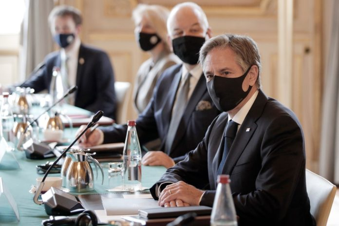 Blinken meets with French officials after AUKUS rift