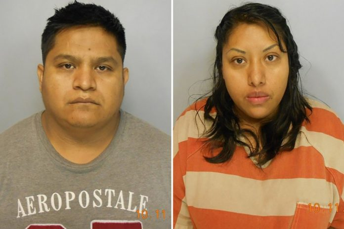 Georgia couple charged with killing toddler in their home