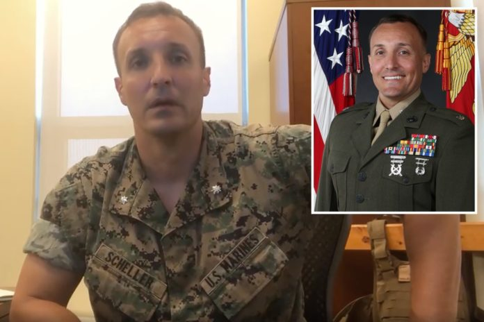 Marine Stuart Scheller to plead guilty over video on Afghan exit