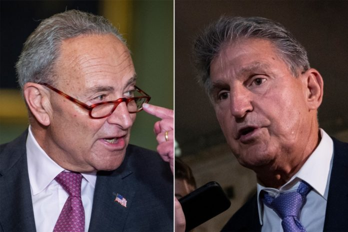 Dems square off on spending after Schumer/Manchin secret pact