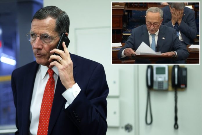 GOP senator said Dems apologized to him for Schumer's speech