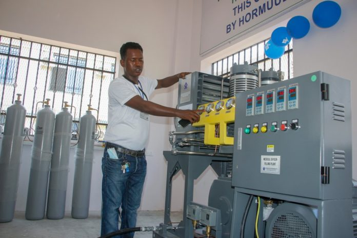 Somalia opens nation's first public oxygen plant amid pandemic
