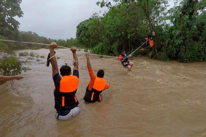 Philippines tropical storm leaves at least 19 dead