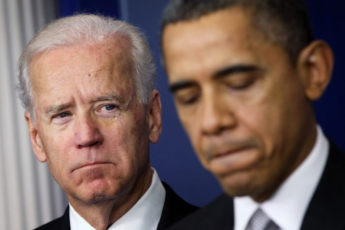 Biden's approval rating 10 points lower than Obama's