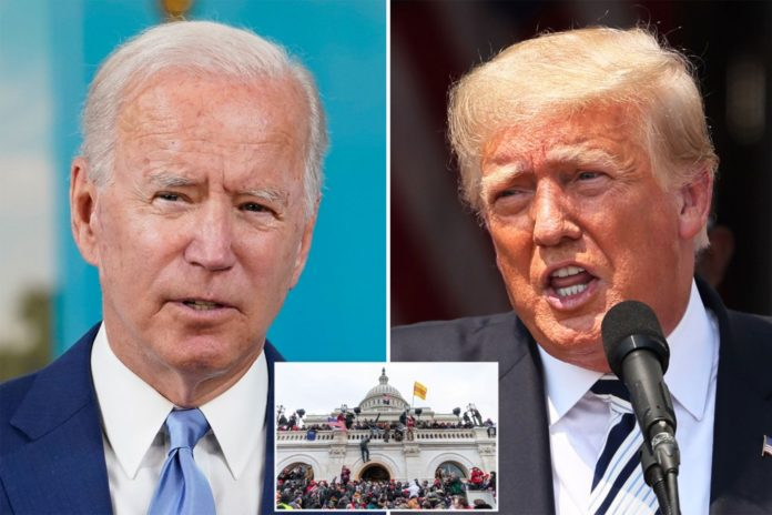 Trump and Biden clash on executive privilege for Capitol rioters