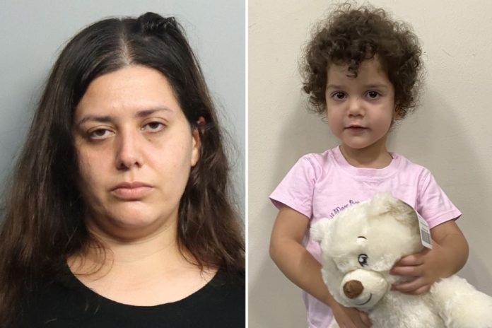 Florida mom left toddler at hospital with strangers, cops say