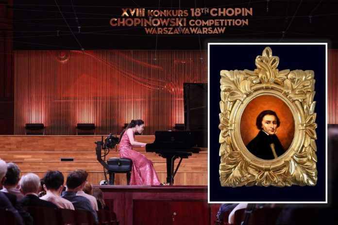 Chopin may have sat for portrait found at Polish flea market in 1990s