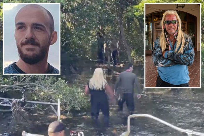 Dog the Bounty Hunter hit with racism lawsuit during Brian Laundrie search