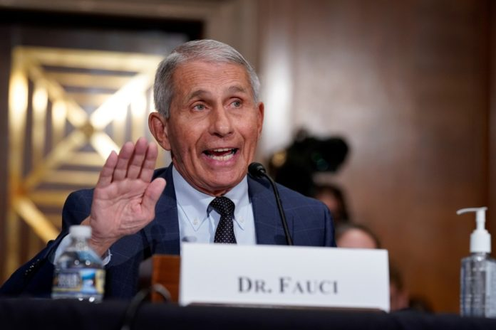 Fauci now says Americans can meet family for Christmas