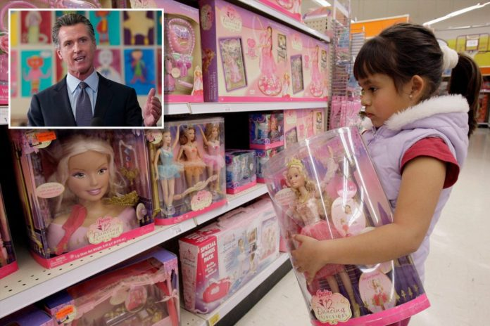 CA requires stores have gender-neutral area for children's products