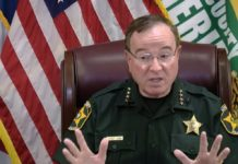 Florida sheriff tells killers to 'chill out, drink a 7UP, eat a MoonPie' as murder rate soars