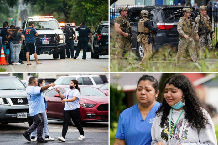 Ex-student opens fire at Houston school, shoots administrator