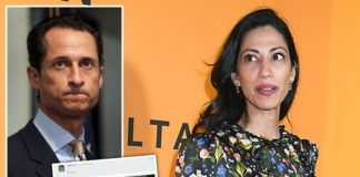 Huma Abedin recalls moment Anthony Weiner came clean over sex pic