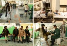 Taliban fighters, Afghan soldiers treated at same rehab center