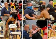 Kentucky principal probed after getting lap dance at homecoming