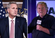 McCarthy alleges Jan. 6 select committee's Bannon subpoena is 'invalid'