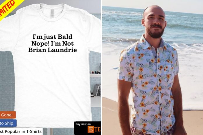 Brian Laundrie lookalikes are buying 'I'm just bald' T-shirts