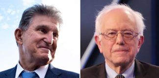 Manchin, Sanders say 'we're talking' about reconciliation bill