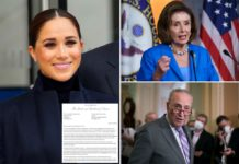 Meghan Markle pushes paid parental leave in letter to Pelosi, Schumer