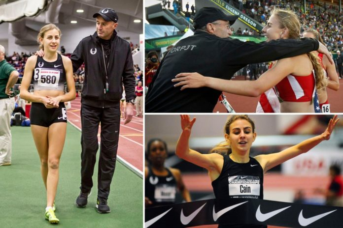 Distance runner Mary Cain sues former coach and Nike