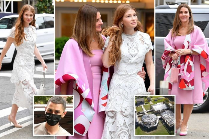 Melinda and Jennifer Gates step out in NYC ahead of posh wedding