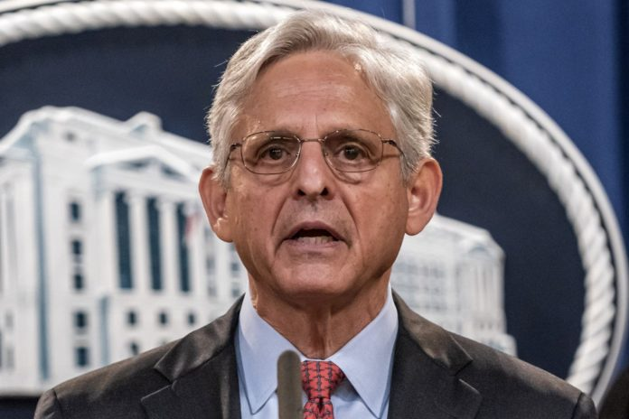 Garland has conflict of interest with Facebook