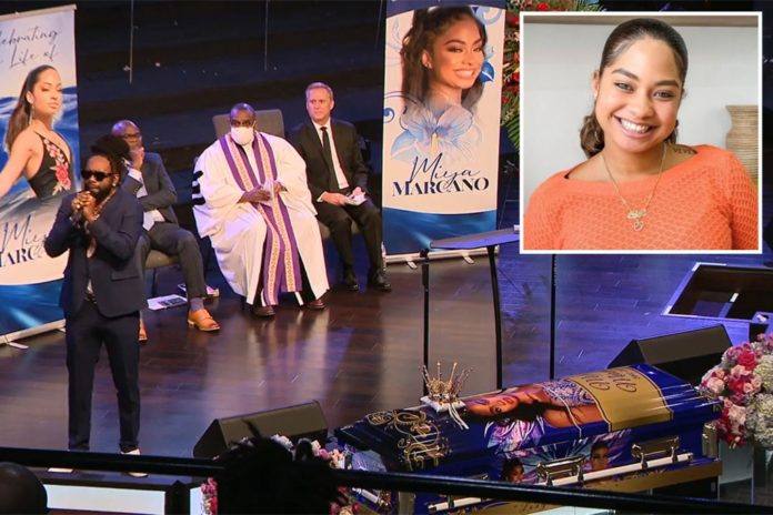 Miya Marcano remembered for 'magnetic energy' at funeral