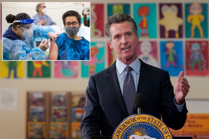 Gov. Gavin Newsom issues nation's first statewide COVID-19 vaccine mandate