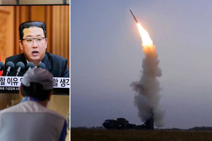 North Korea test-fires fourth missile in a month