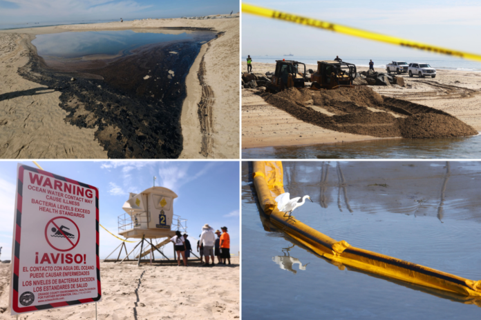 SoCal oil spill killing wildlife, may close beaches for months