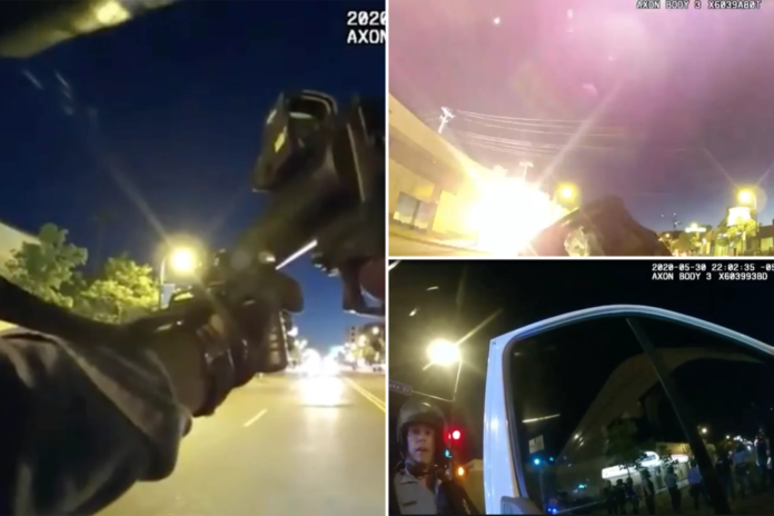 Bodycam video shows Minneapolis cops 'hunting' protesters