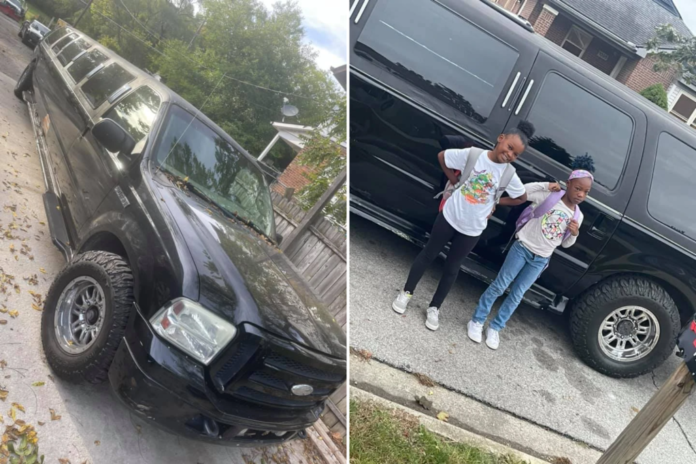 Ohio dad Sean Rogers Jr. takes kids to school in limo amid bus shortage