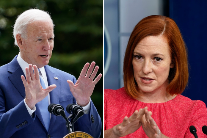 Psaki claims Biden owing $500K to IRS was 'debunked'